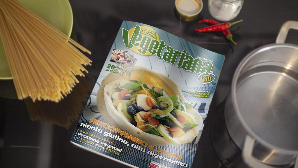 Cucina Vegetariana sprea editori magazine art direction slide 1