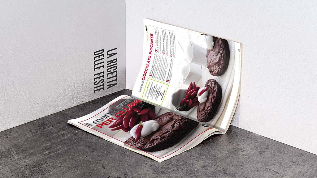 Cucina Vegetariana sprea editori magazine art direction slide 2