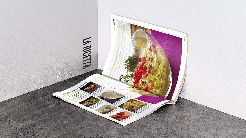Cucina Vegetariana sprea editori magazine art direction slide 3