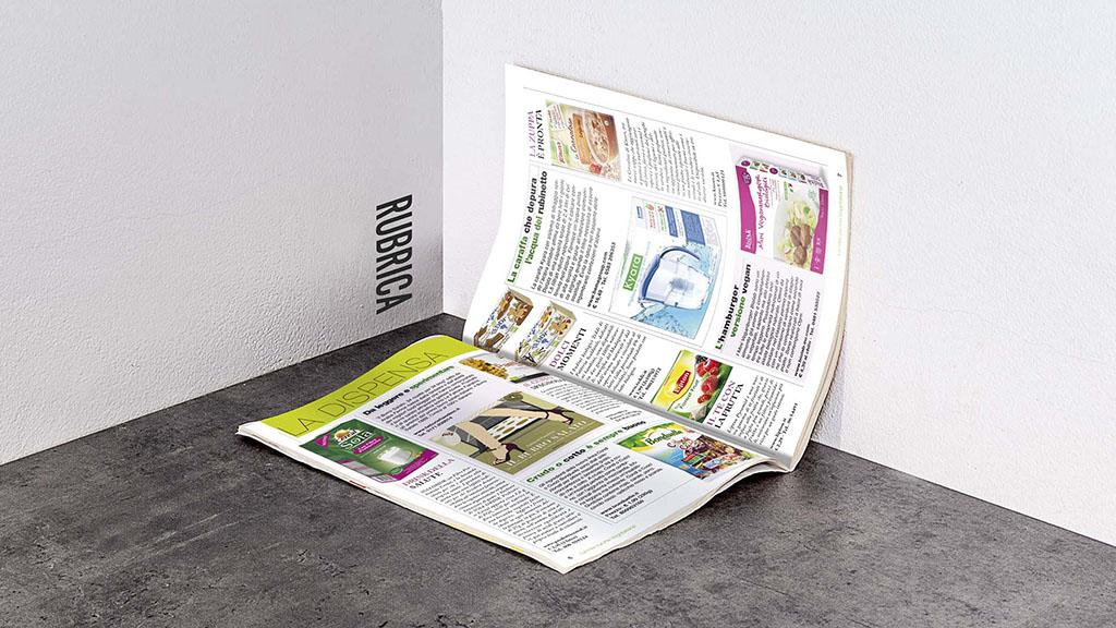 Cucina Vegetariana sprea editori magazine art direction slide 4