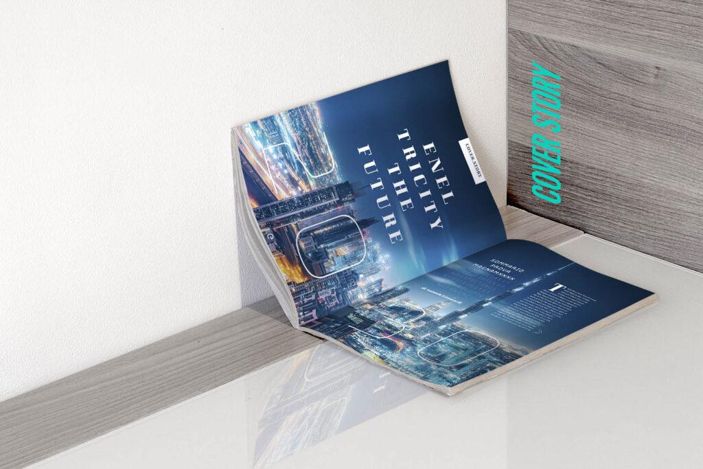 editoria enel cover story e-magazine davco